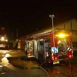 brandweerwagens opgesteld © George Bakker / VRK