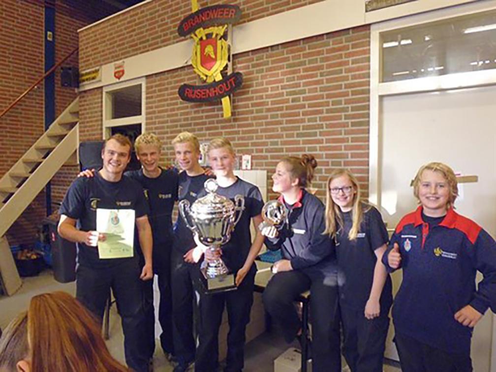 Jeugdkorps Halfweg-Zwanenburg is de winnende ploeg!